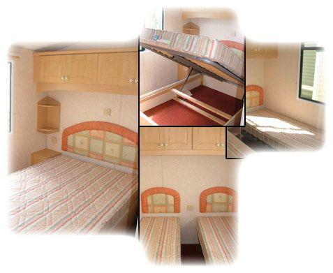 caravan interior collage