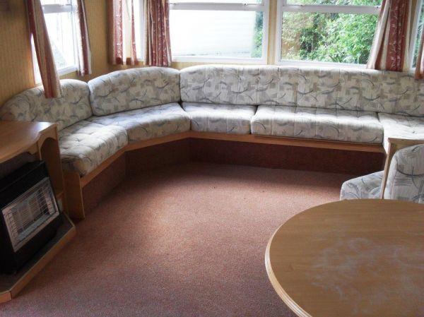 caravan interior lounge