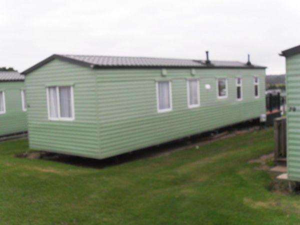 green caravans