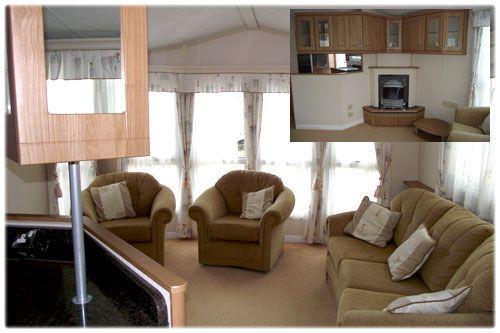 modern brown lodge interior