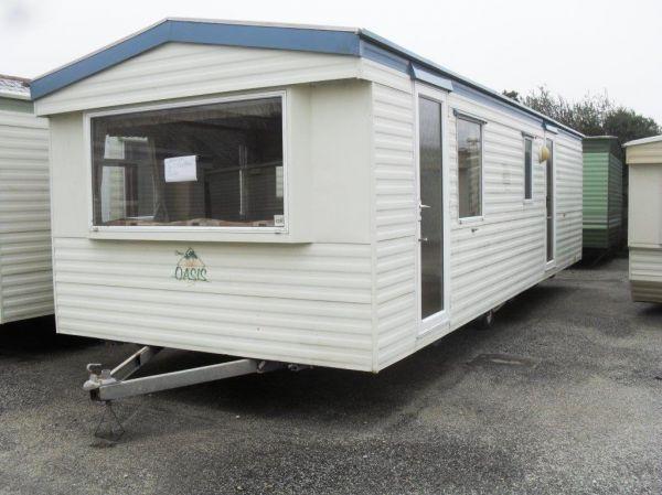 cream caravan