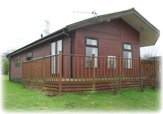 modern brown lodge