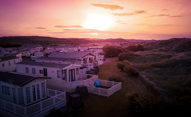 used static caravan cornwall
